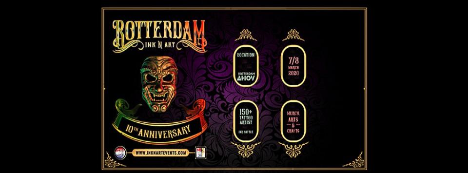 Rotterdam Ink N Art Tattoo Convention